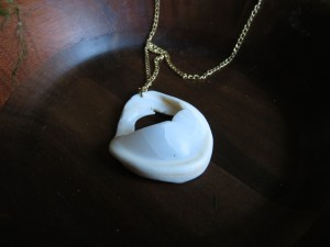 Sea specimen necklace